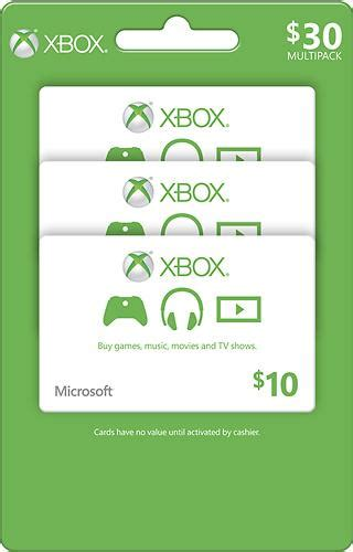 10 Xbox Gift Card - 10 xbox gift card 3 pack giftcardshunters com