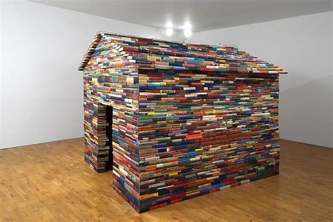 the house books house made entirely out of books my modern met