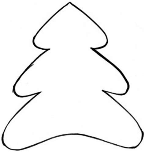 christmas tree patterns to cut out for style whimsical trees