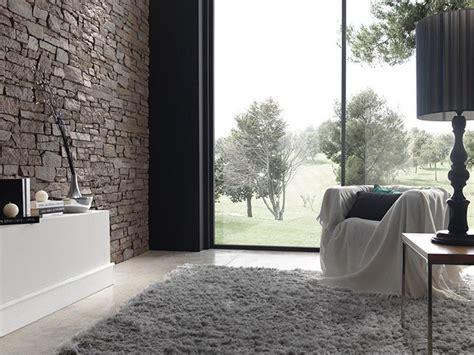 pareti soggiorno in pietra pareti in finta pietra pareti caratteristiche delle