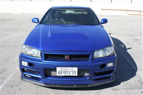 nissan skyline fast and furious 4 r34 nissan skyline gt r replica used in fast and furious 4