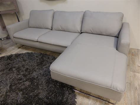 Natuzzi Italian Leather Sofa Natuzzi Editions Copenhagan Italian Leather Chaise Sofa Furnimax Brands Outlet