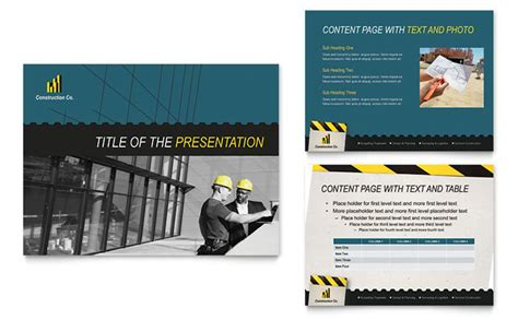 industrial commercial construction powerpoint