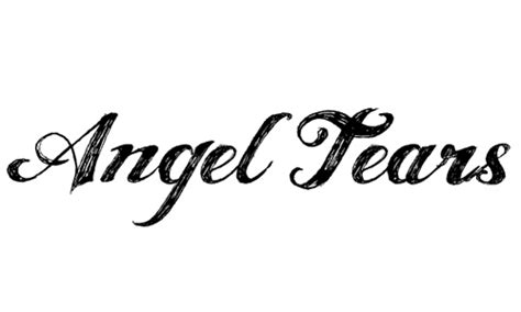 tattoo font angel tears a collection of free to use sketch font for designers