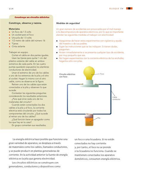 solucionario del libro sep quinto grado ciencias naturales ciencias naturales 5o grado by rar 225 muri page 116 issuu