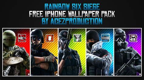 gfx rainbow  siege iphone wallpaper background
