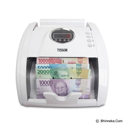 Mesin Hitung Uang Tissor T 1100 jual tissor money counter t1100s murah bhinneka