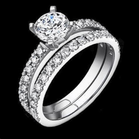 jewelers delicate cut pave engagement rings with