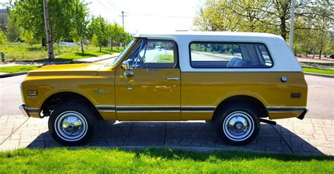Blazer X4 1972 chevrolet k5 blazer cst 4x4 barn find for sale