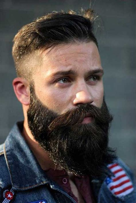 guys hairstyles with beards facial hairstyles for men mens hairstyles 2018