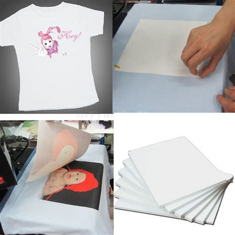 Iron On Transfer Paper For Printer | 10pcs a4 heat iron on t shirt for dark fabrics inkjet
