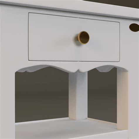 comptoir de famille table console table 001 3d model max obj fbx cgtrader