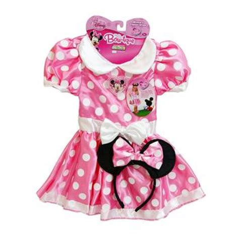 Dress Jw 13 Minnie Mouse D pin minnie mouse costumes pink with white polka dots dress