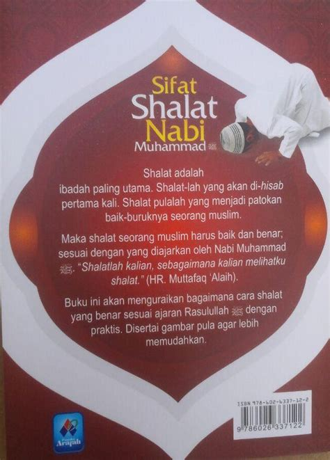 Sifat Shalat Tahajjud Rasulullah buku saku sifat shalat nabi muhammad plus dzikir bergambar