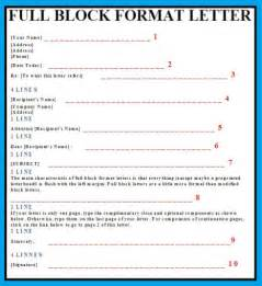 Business Letter Using Block Format Format Business Letter Business Letter Examples
