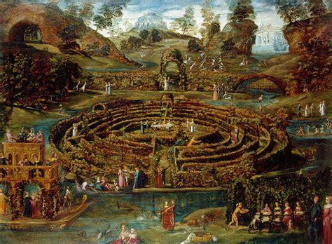 Allée De Jardin En 3955 by File Toeput Lodewijck Pozzoserrato Lodovico Pleasure