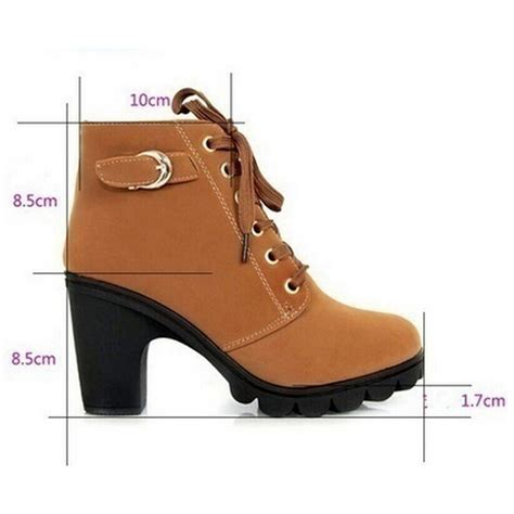 high quality lace up leather boots fashion trendy shop