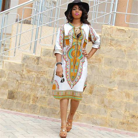 african american womens clothing womens summer white midi dashiki print dress african