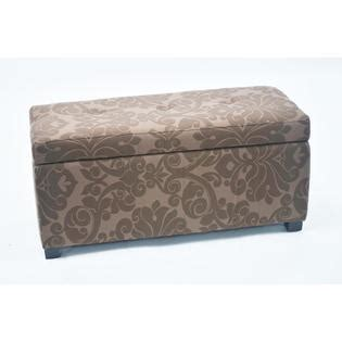 Printed Storage Ottoman Bolbolac Floral Print Storage Ottoman With Button
