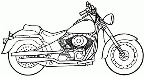 motorcycle coloring pages pdf printable free transportation motorcycle colouring pages
