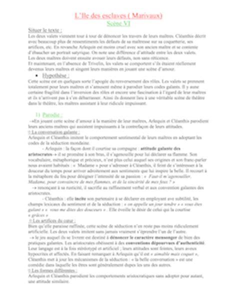Resume L Ile Des Esclaves by L Ile Des Esclaves Marivaux Fiche De Lecture Marivaux