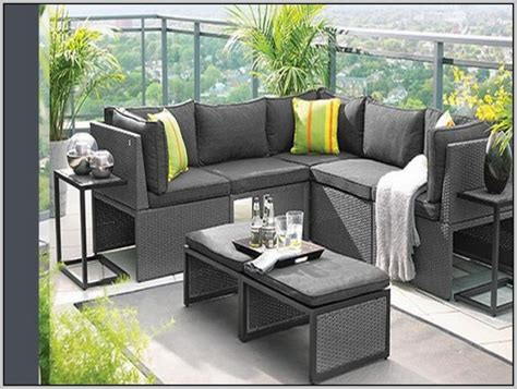 Endearing Condo Patio Furniture For Small Spaces And