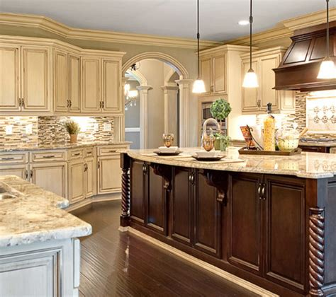 Choosing The Perfect Kitchen Cabinet Door Style Stove Different Color Kitchen Cabinets