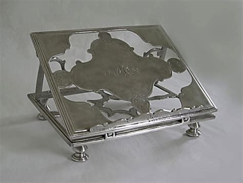 Handmade Italian Pewter Desk Sets Reproduction Antique Pewter Desk Accessories