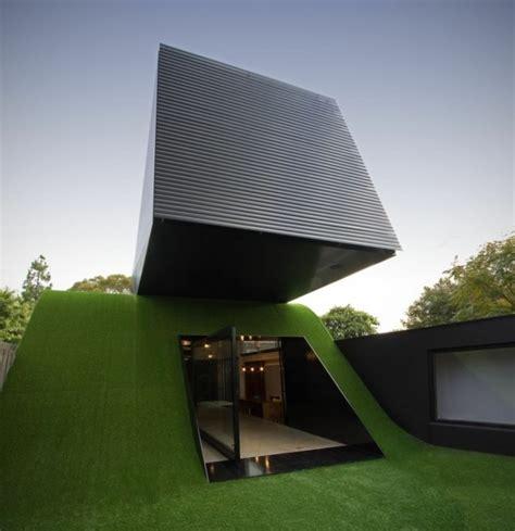 modernes haus bauprojekt fuer nachhaltige architektur