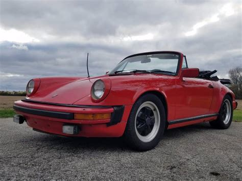 porsche 911 convertible south florida 1983 porsche 911 sc convertible buy