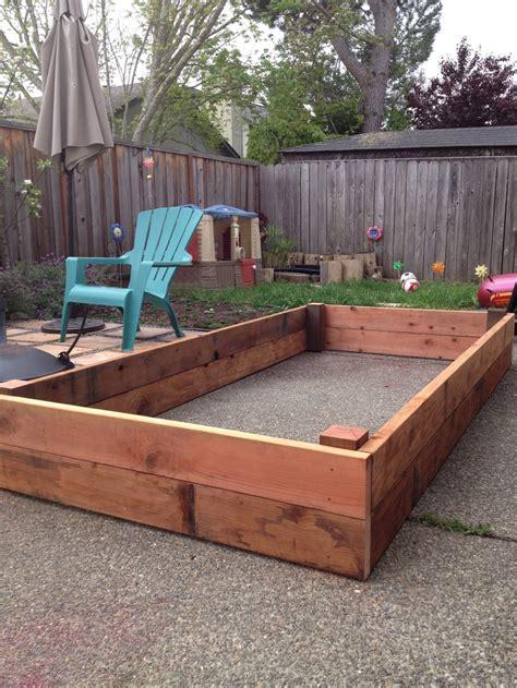 Redwood Planter Box Plans by Planter Box 4 X 8 X 1 All Redwood Garden