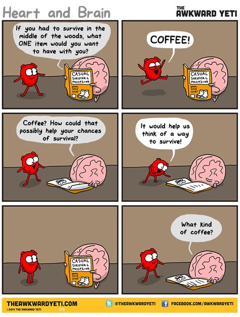 libro heart and brain an comics the awkward yeti