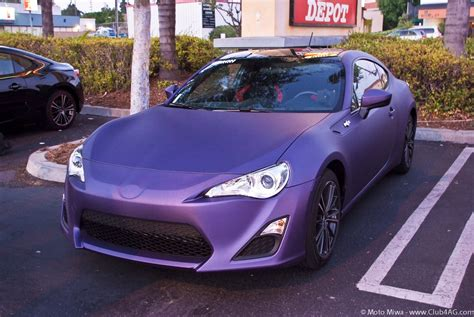purple subaru matte purple toyota gt86 scion fr s subaru br z via