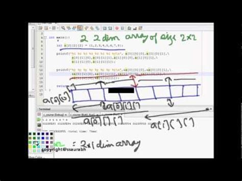 memory layout design interview questions array programming