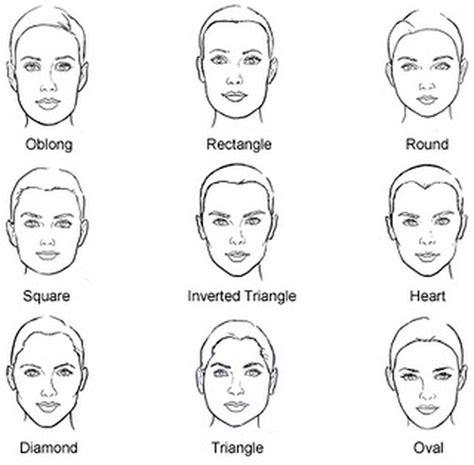 hairpins for rectangular shape face makeup tips for rectangle face shapes melanie parker
