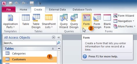 how to find layout view in access 2010 access 2010 creating forms amal nagm