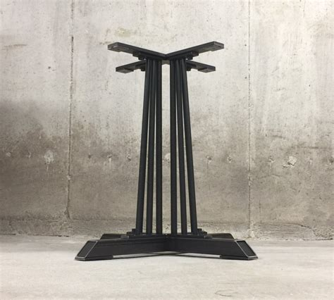 beautiful pedestal table base for 28 images pedestal industrial pedestal table base 28 height by nakedmetalstudio