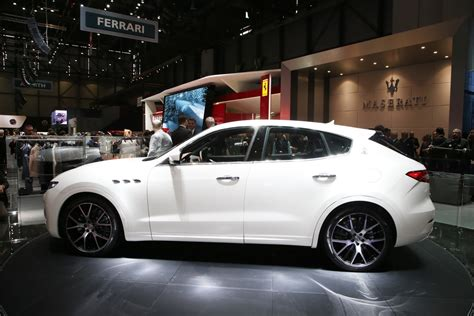 suv maserati new maserati levante suv detailed in geneva just as