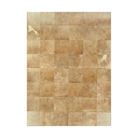 Patchwork Cowhide Rugs - patchwork cowhide brown carpet rug handmade by furhome