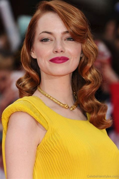 emma stone wavy hair 55 excellent hairstyles of emma stone