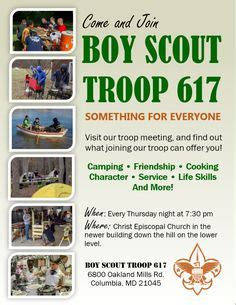 Cub Scout Recruiting Posters Bing Images Scouts Pinterest Scrapbook Scrapbooking And Scout Flyer Template