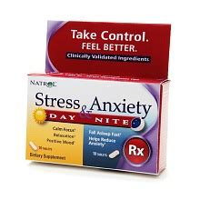 The Counter Detox Walgreens by Natrol Stress Anxiety Day Dietary Supplement