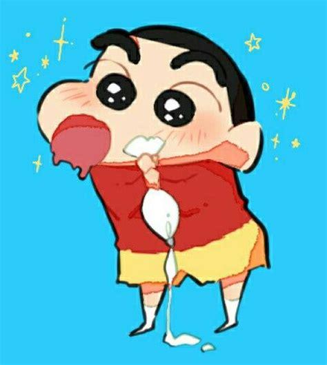 Kaos Anime Kartun Shin Chan Blue crayon shin chan crayon shin chan