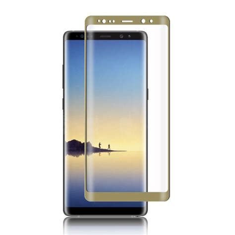 Tempered Glass Screen Samsung Note 8 2017 New Anti Gores Kaca 3d curved tempered glass screen protector for samsung