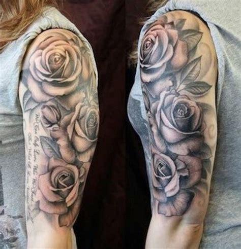 black roses tattoo sleeve ilona floral black tattoos sleeve