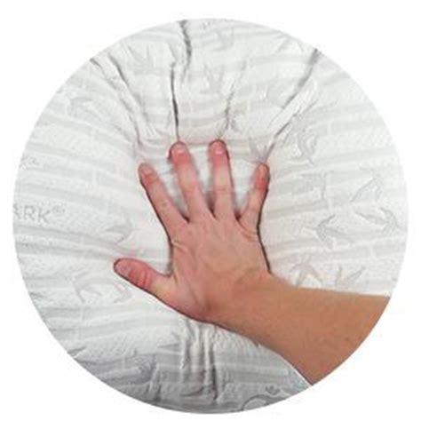 Best Pillow To Prevent Headaches by 2 Pack Memory Foam Bamboo Gel Pillow By Clara Clark
