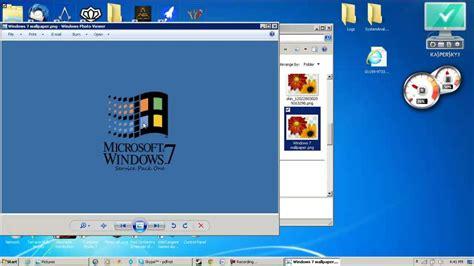 make window tutorial how to make windows 7 look like windows 95 youtube