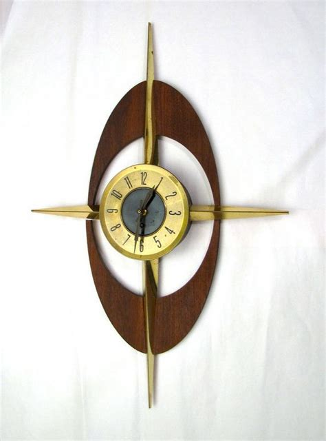 midcentury modern clock 17 best images about cool clocks on 1970s