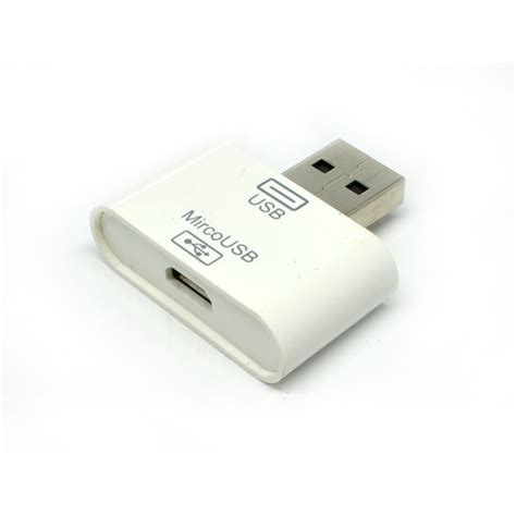 Usb Hub Dengan Adaptor i flashdrive lightning card reader microsd tf dengan micro usb adapter white jakartanotebook