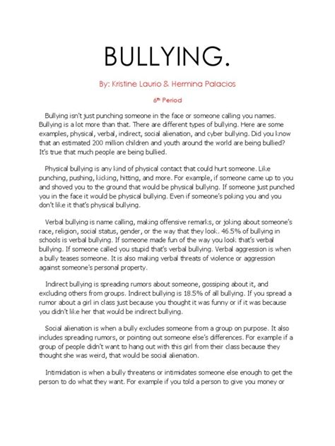 Proposing A Solution Essay On Bullying by Format For Argumentative Essay Custom Essay Paper Also Erin Brockovich Essay Sle Of A